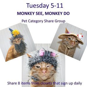 Tuesday 5-11 Pet Category Share Group